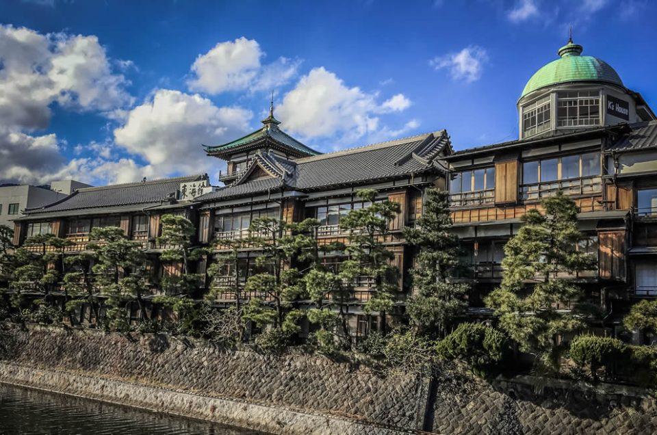 Tokaikan, a former old Ryokan at Izu