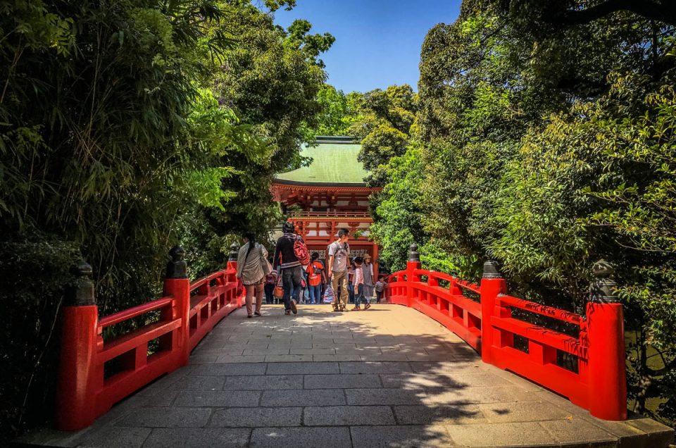 Hikawa Shrine in Saitama