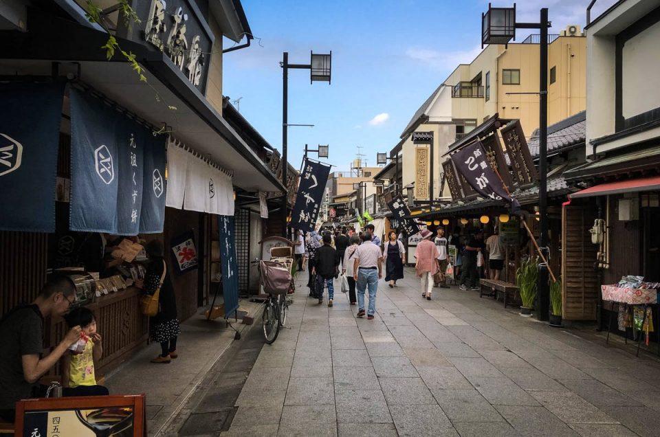 Nostalgic walk at Shibamata