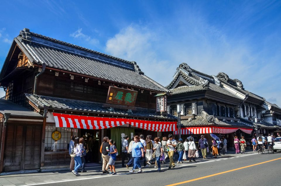 "Kawagoe, the ""Little Edo"""