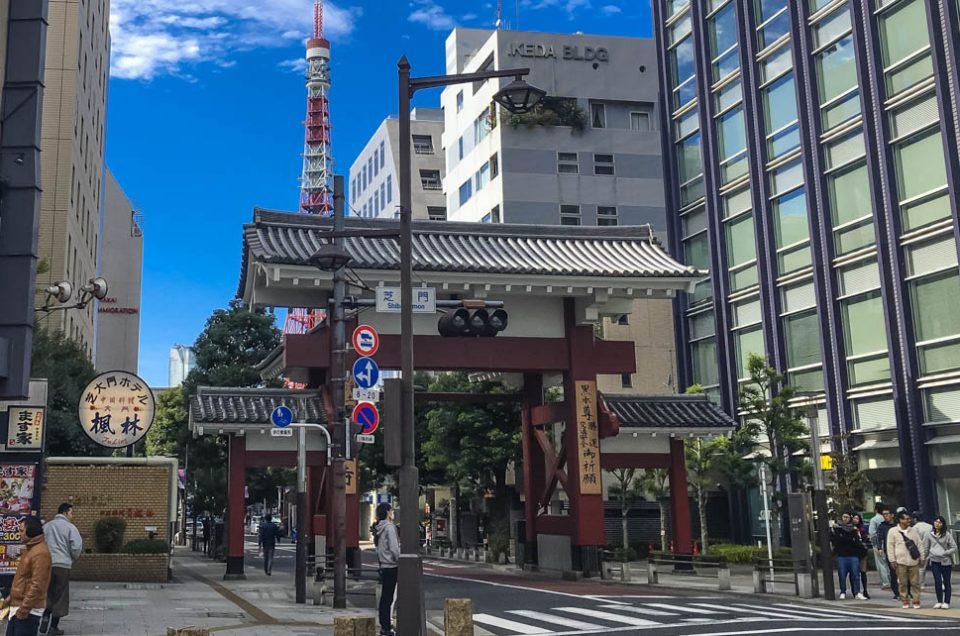 Zojoji's Daimon Gate