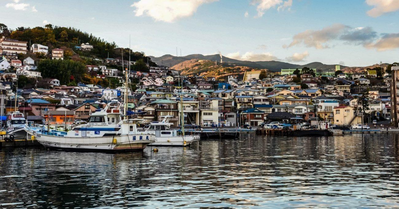 Manazuru, a beautiful seaside town