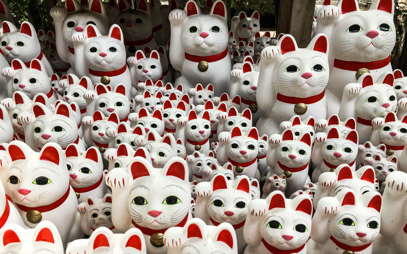 Gotokuji, the home of Maneki Neko