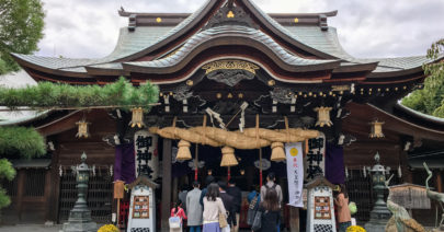Kushida Shrine in Hakata, Fukuoka
