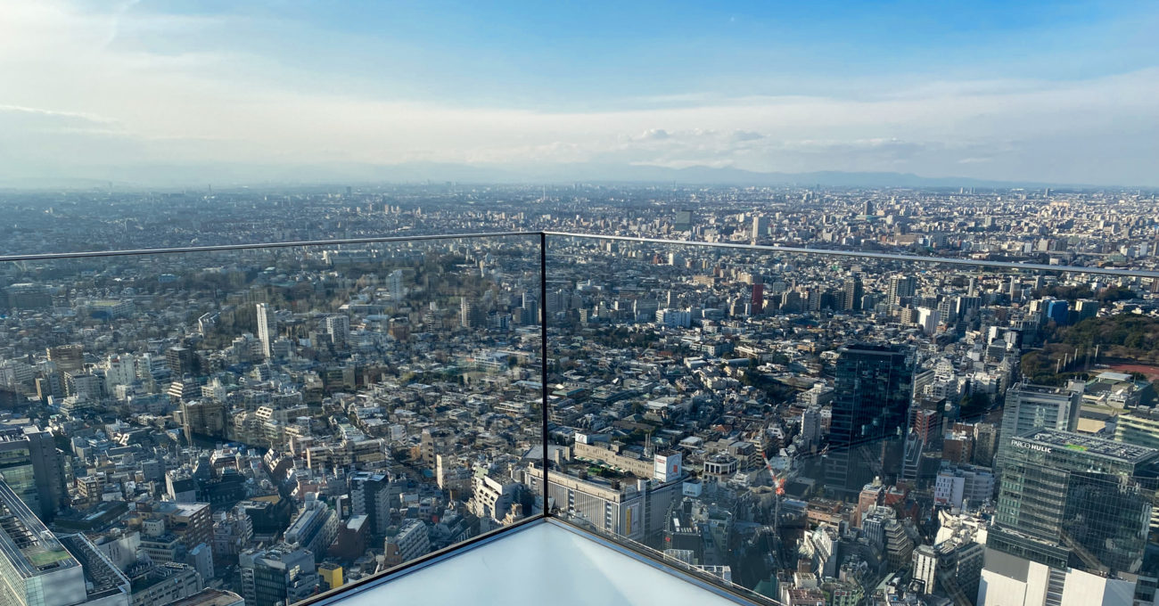 Shibuya Sky: The trendy place to visit in Tokyo