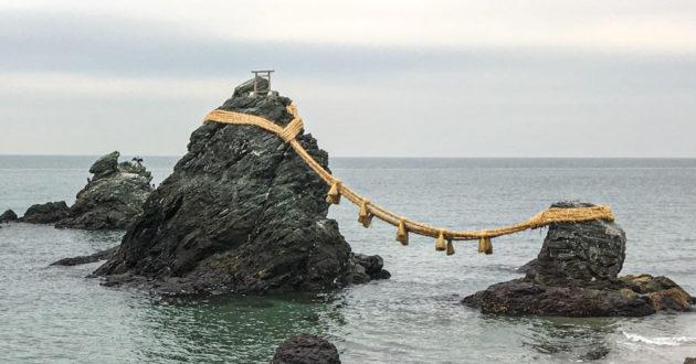 Meoto Iwa, the Wedded Rocks