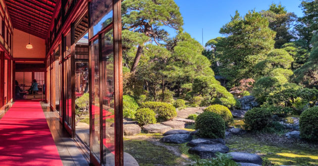 Yamamoto-tei, a traditional house and garden