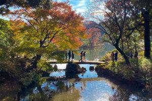 A Sunday in Rikugien Gardens